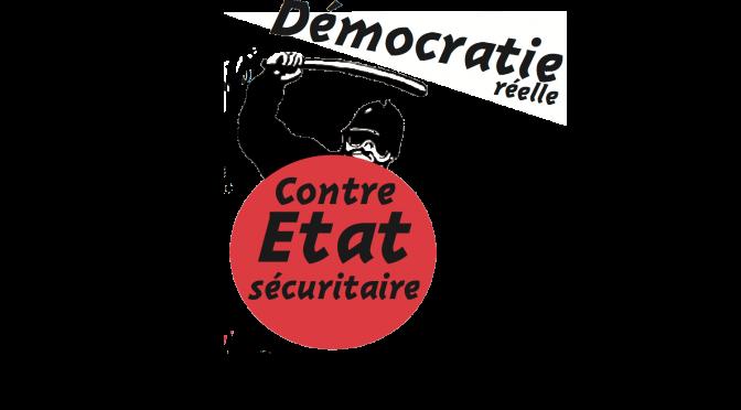 Prochain débat : <i>Démocratie réelle contre état sécuritaire</i>
